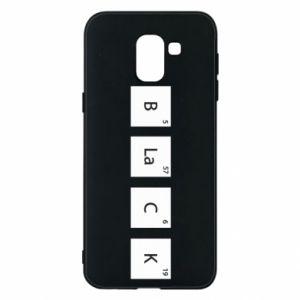 Etui na Samsung J6 Black