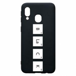 Etui na Samsung A40 Black