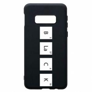 Etui na Samsung S10e Black