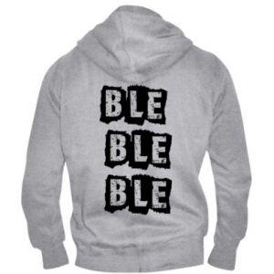 Men's zip up hoodie Ble... - PrintSalon