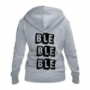 Women's zip up hoodies Ble... - PrintSalon