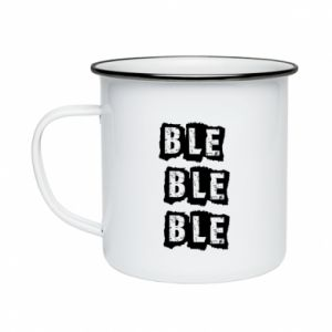 Enameled mug Ble... - PrintSalon