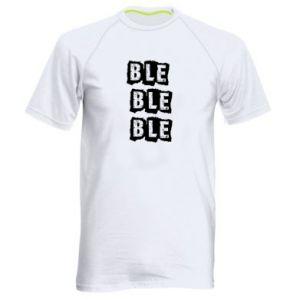 Męska koszulka sportowa Ble...