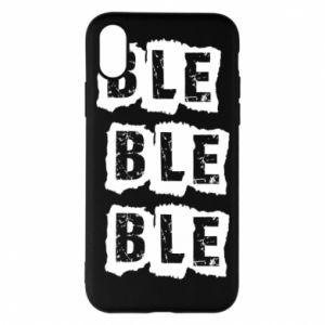Etui na iPhone X/Xs Ble...