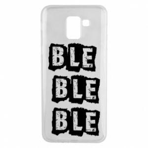 Phone case for Samsung J6 Ble... - PrintSalon