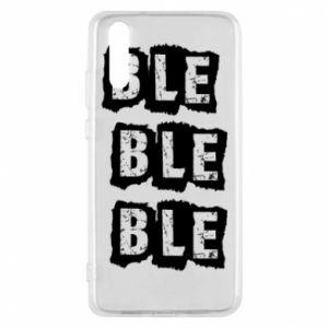 Phone case for Huawei P20 Ble... - PrintSalon