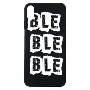 Etui na iPhone Xs Max Ble...