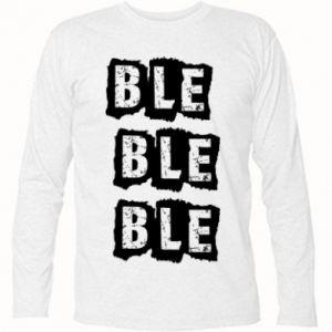 Long Sleeve T-shirt Ble... - PrintSalon
