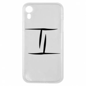 Phone case for iPhone XR Twins