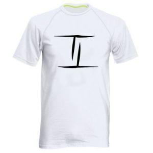 Męska koszulka sportowa Bliźnięta
