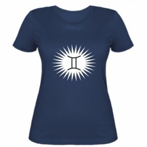 "Women's t-shirt Print with an inscription ""Twins"""