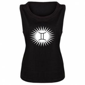 "Damska koszulka Nadruk z napisem ""Twins"" - PrintSalon"