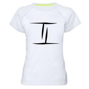Damska koszulka sportowa Bliźnięta