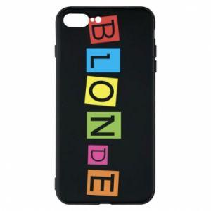 Phone case for iPhone 8 Plus Blonde