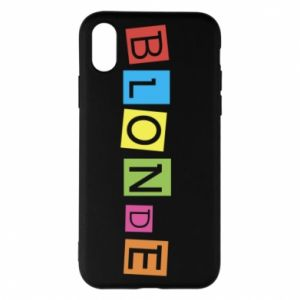Phone case for iPhone X/Xs Blonde