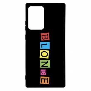 Etui na Samsung Note 20 Ultra Blonde