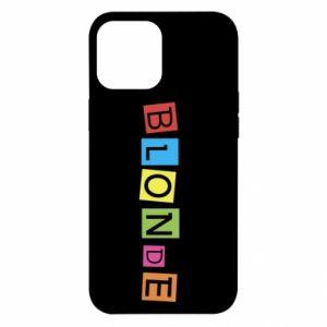 Etui na iPhone 12 Pro Max Blonde