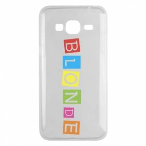 Phone case for Samsung J3 2016 Blonde