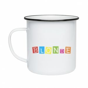 Enameled mug Blonde