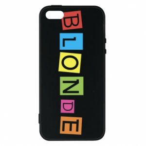 Phone case for iPhone 5/5S/SE Blonde