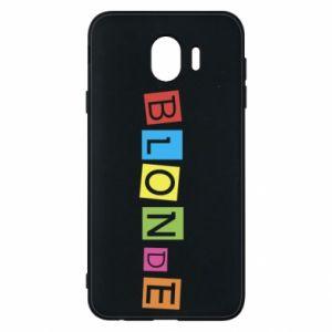 Phone case for Samsung J4 Blonde