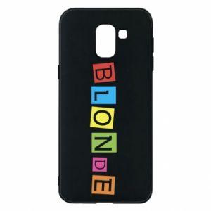 Phone case for Samsung J6 Blonde