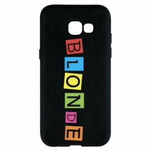 Phone case for Samsung A5 2017 Blonde