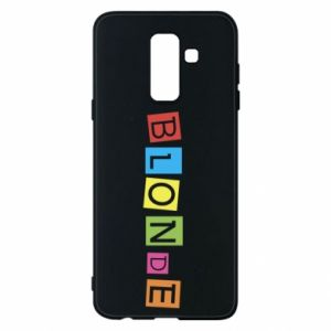 Phone case for Samsung A6+ 2018 Blonde