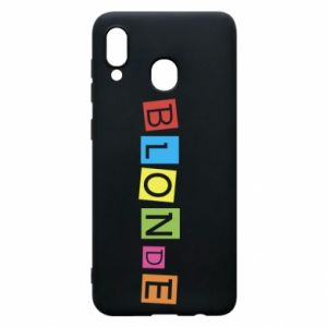 Phone case for Samsung A30 Blonde
