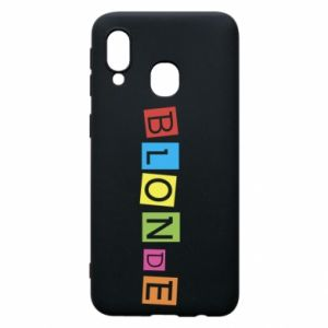 Phone case for Samsung A40 Blonde