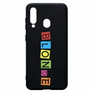 Phone case for Samsung A60 Blonde
