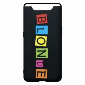 Phone case for Samsung A80 Blonde