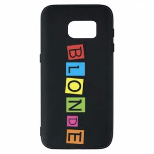 Phone case for Samsung S7 Blonde