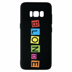 Phone case for Samsung S8 Blonde