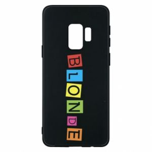 Phone case for Samsung S9 Blonde