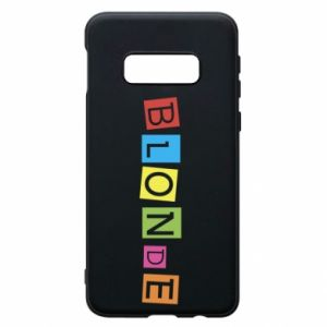 Phone case for Samsung S10e Blonde