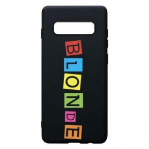 Phone case for Samsung S10+ Blonde