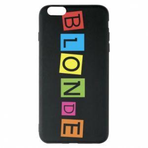 Phone case for iPhone 6 Plus/6S Plus Blonde