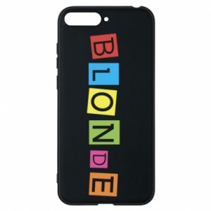 Phone case for Huawei Y6 2018 Blonde