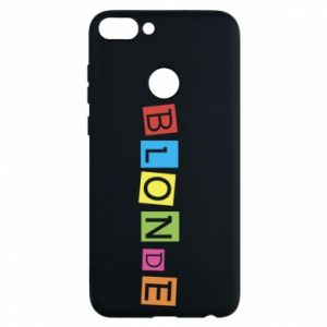 Phone case for Huawei P Smart Blonde