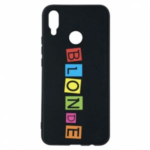 Phone case for Huawei P Smart Plus Blonde