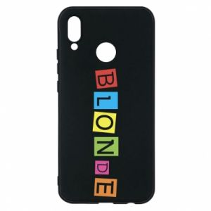 Phone case for Huawei P20 Lite Blonde