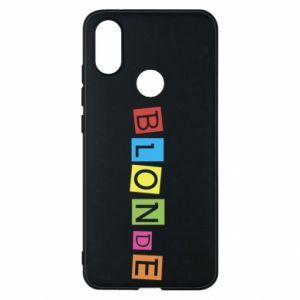 Phone case for Xiaomi Mi A2 Blonde