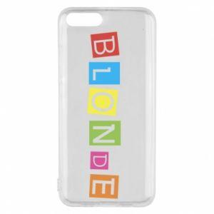 Phone case for Xiaomi Mi6 Blonde