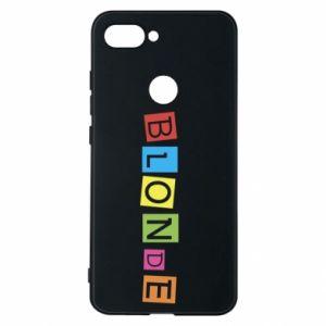 Phone case for Xiaomi Mi8 Lite Blonde