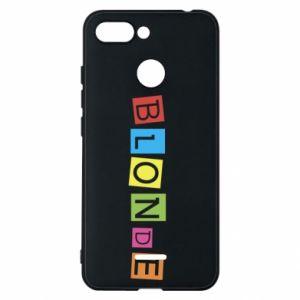 Phone case for Xiaomi Redmi 6 Blonde