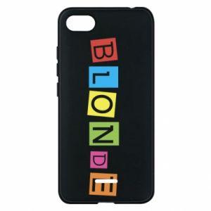 Phone case for Xiaomi Redmi 6A Blonde