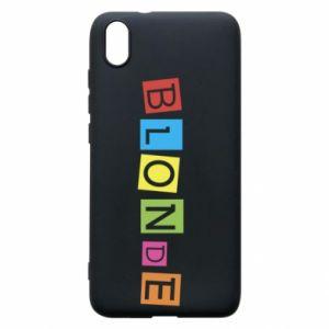 Phone case for Xiaomi Redmi 7A Blonde