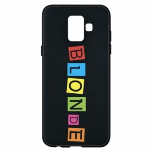 Phone case for Samsung A6 2018 Blonde