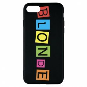 Phone case for iPhone 7 Blonde